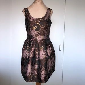 Suzy shier black collection fit and flare dress